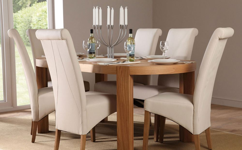 Oval Dining Room Table Sets - Home Furniture Design