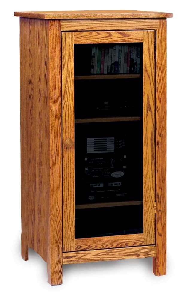 stereo component cabinet wood audio cabinet home furniture design 26794
