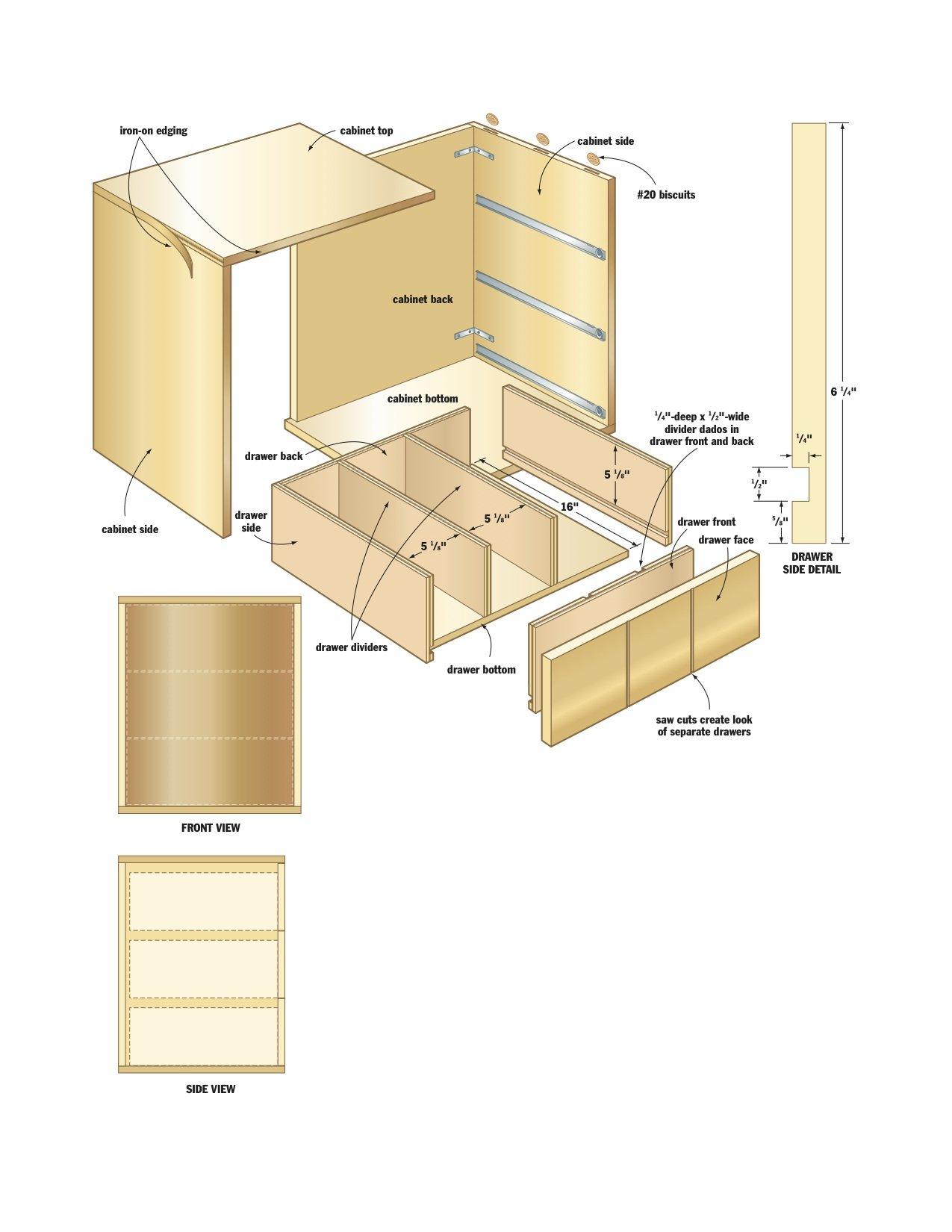 Wood Storage Cabinet Plans - Home Furniture Design