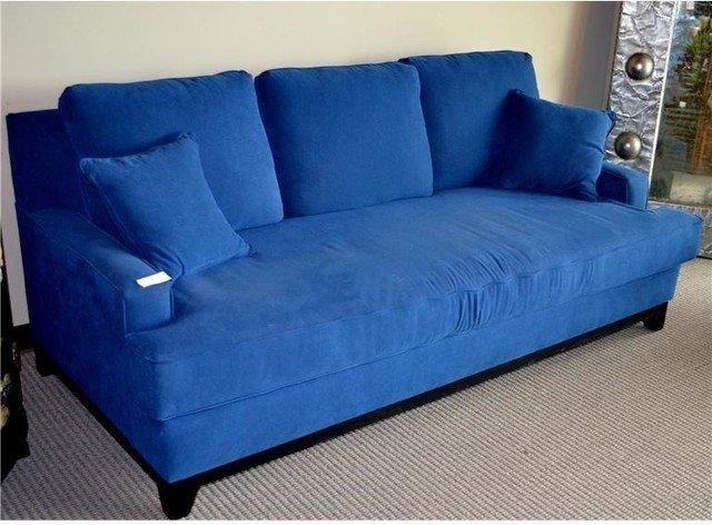 Blue Sleeper Sofa Home Furniture Design