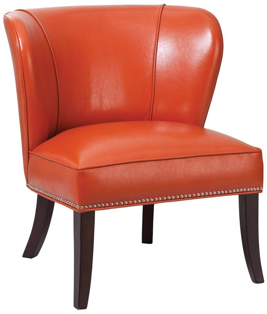 Burnt Orange Accent Chair Home Furniture Design