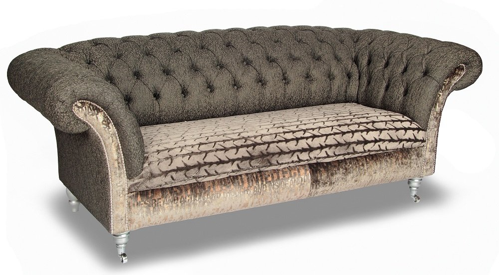 Fabric Chesterfield Sofa Home Furniture Design