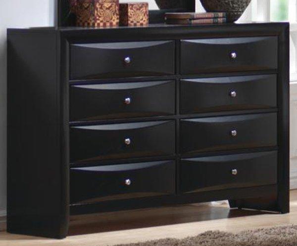 8 Drawer Dresser Black Home Furniture Design