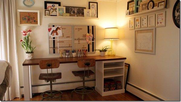 Art Studio Desk Home Furniture Design