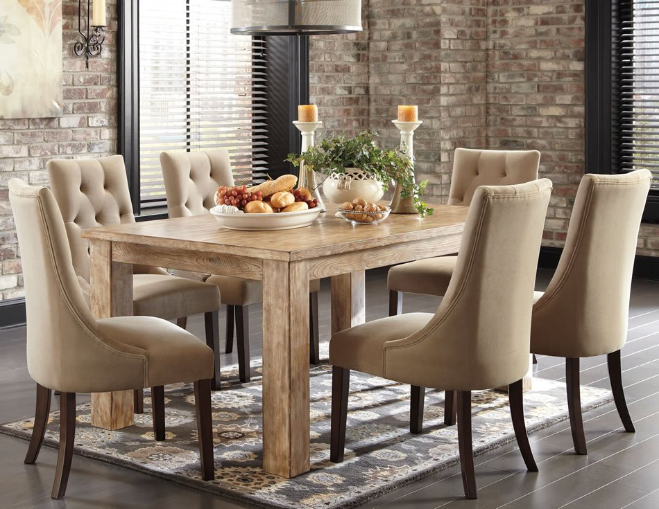 Fabric Covered Dining Room Chairs - Home Furniture Design