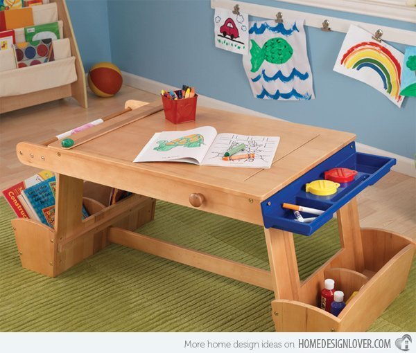 kids craft table ideas desk home furniture design 4813