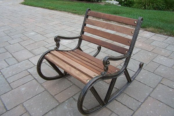Metal Outdoor Rocking Chairs Home Furniture Design