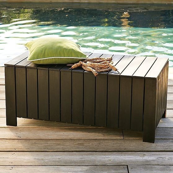 Outdoor Cushion Storage Bench Home Furniture Design