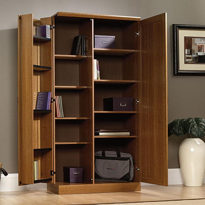 Storage Cabinets with Doors and Shelves - Home Furniture ...