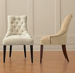 white fabric dining room chairs | White Fabric Dining Room Chairs - Home Furniture Design