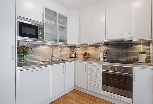 White Metal Kitchen Cabinets Home Furniture Design