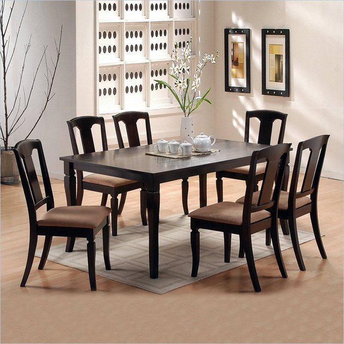 7 Piece Dining Room Set - Home Furniture Design