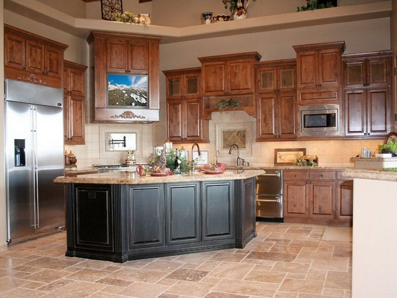 popular kitchen colors with oak cabinets best kitchen colors with oak cabinets home furniture design 24843