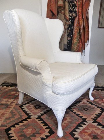 Custom Wing Chair Slipcovers Home Furniture Design