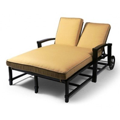 Double Chaise Lounge Cushion Home Furniture Design