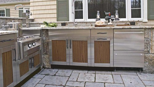 Outdoor Kitchen Cabinets Stainless Steel - Home Furniture ...