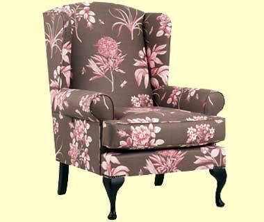 Queen Anne Chair Slipcover Home Furniture Design