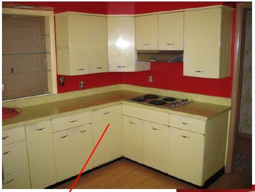 Retro Metal Kitchen Cabinets - Home Furniture Design