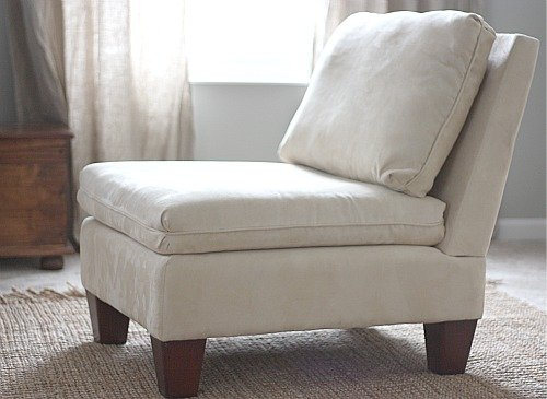 slipper chair slipcover home furniture design