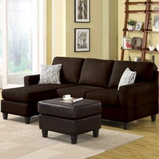 Small sofa with chaise lounge home furniture design - Small couch with chaise ...