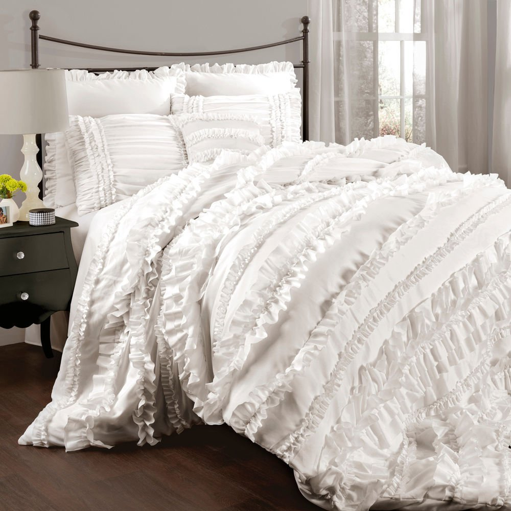 all white bed set all white bedding set home furniture design 13999