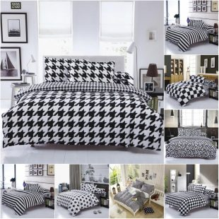 Cheap Black And White Bedding Sets Home Furniture Design