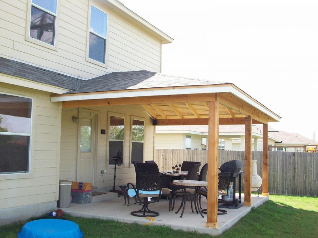 Diy Aluminum Patio Cover - Home Furniture Design on Backyard Porch Ideas Covered Decks Diy id=56270