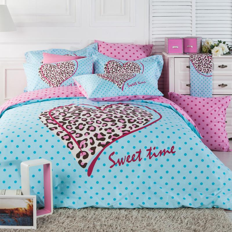 pink leopard print bedroom pink cheetah bed set home furniture design 16749