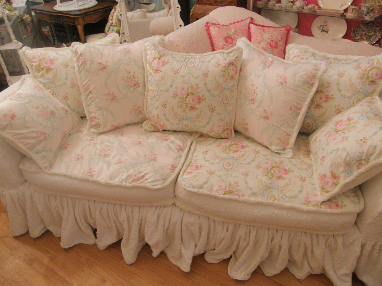 Shabby Chic Sofa Covers Home Furniture Design