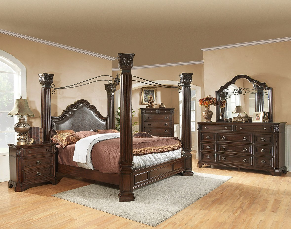 canopy king bedroom sets king canopy bedroom set home furniture design 14700
