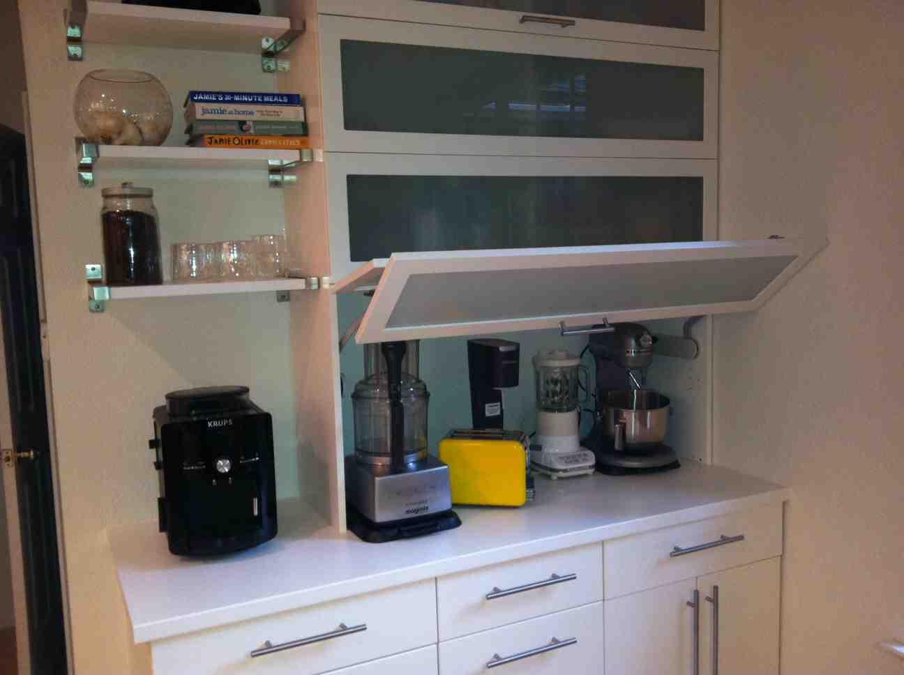 Appliance Garage Cabinet Home Furniture Design