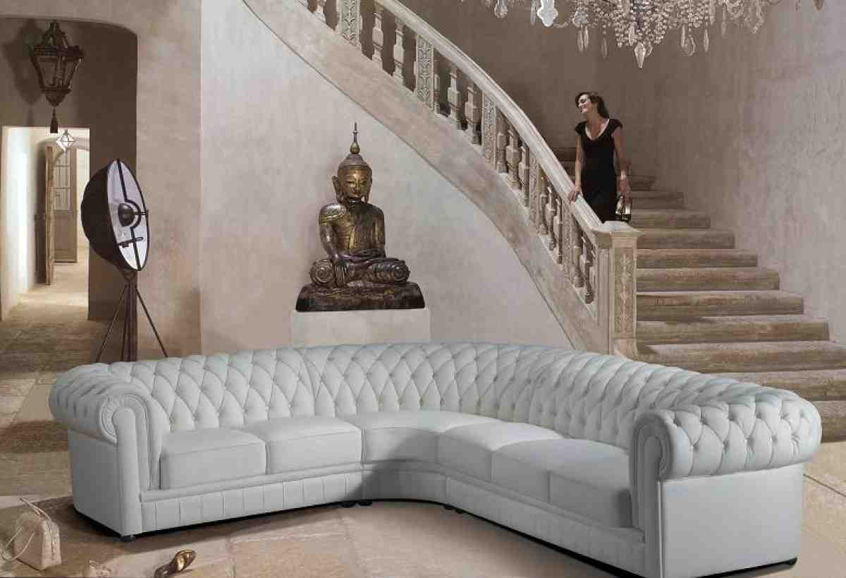 Large Curved Sofa Home Furniture Design