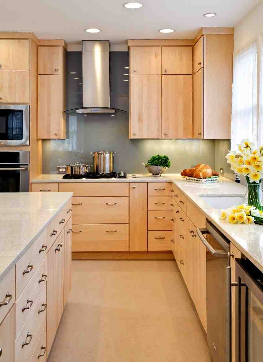 Maple Color Cabinets - Home Furniture Design on Best Countertop Color For Maple Cabinets  id=75274