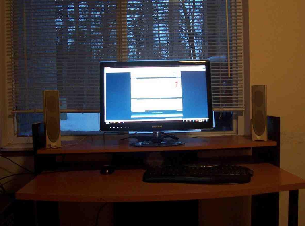 Brenton Studio Zentra Collection Computer Desk Home