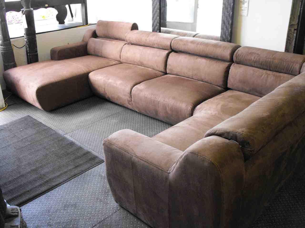 c shaped sectional sofa