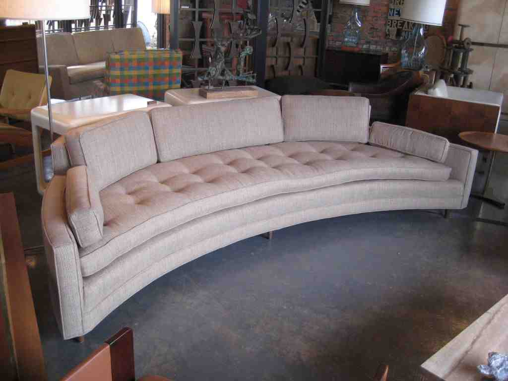Crescent Shaped Sofa Home Furniture Design