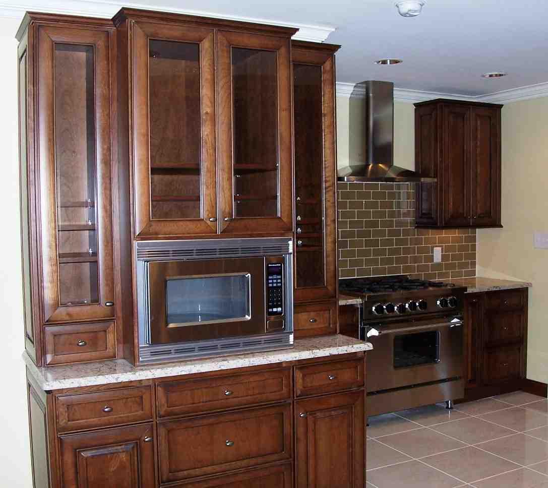 Kitchen Microwave Cabinet - Home Furniture Design