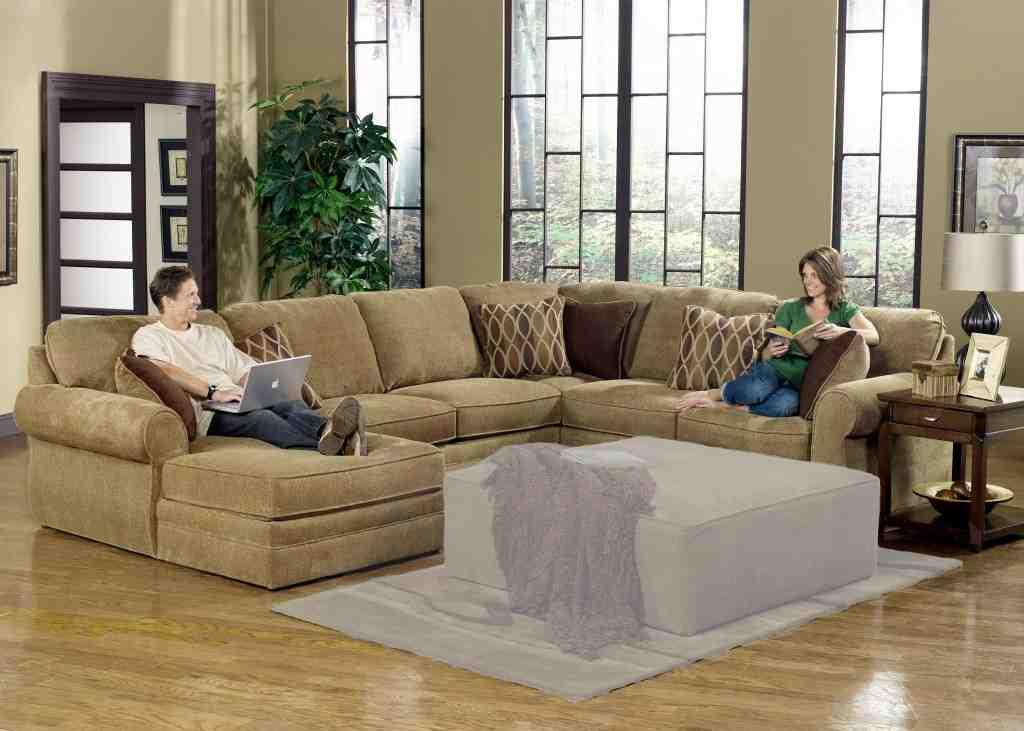 Large U Shaped Sectional Sofa Home Furniture Design