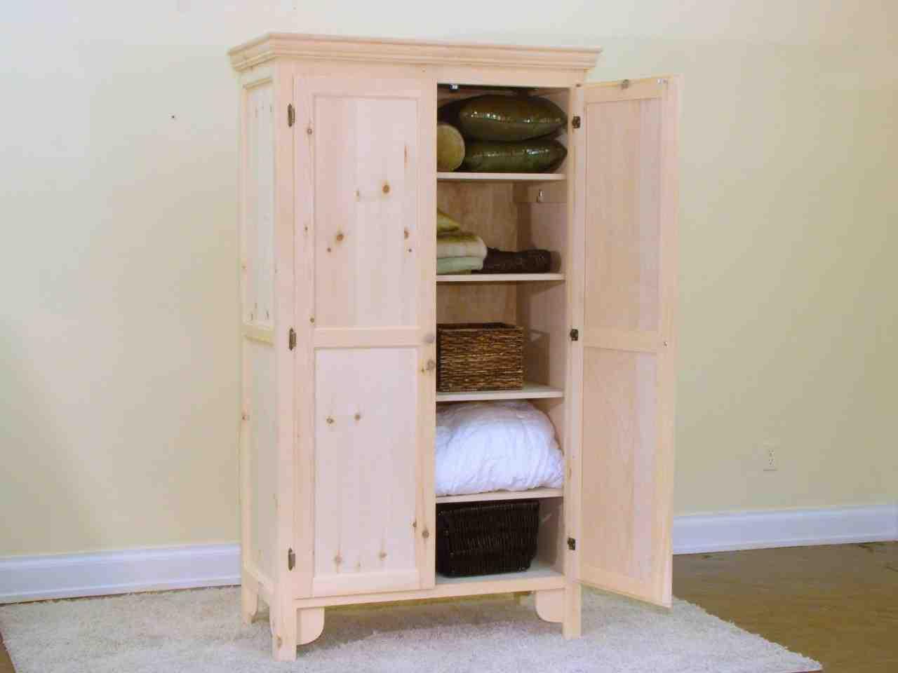 Linen Closet Cabinet Home Furniture Design