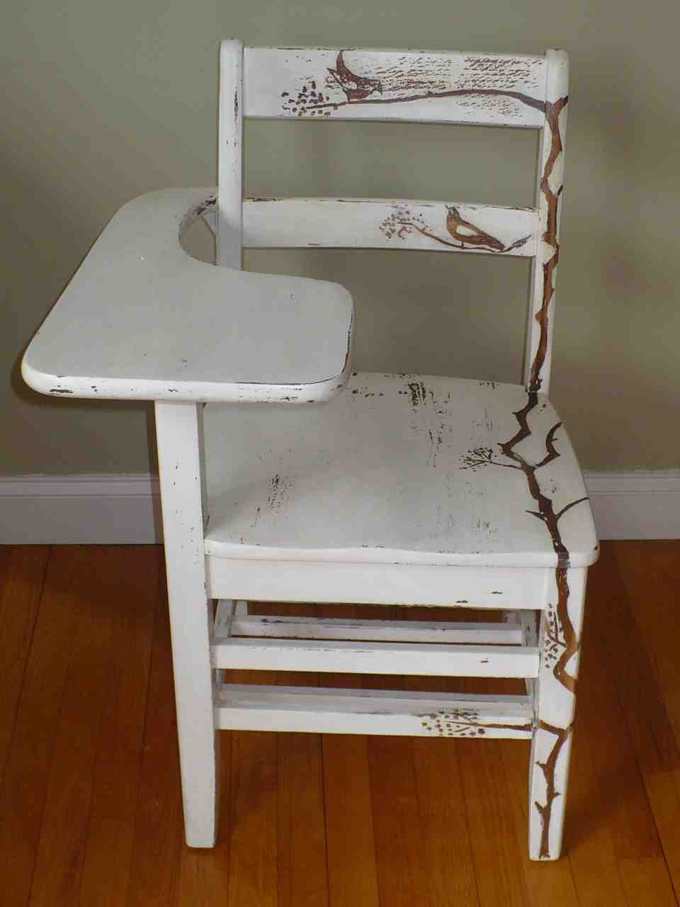 Old School Desk Chair Home Furniture Design