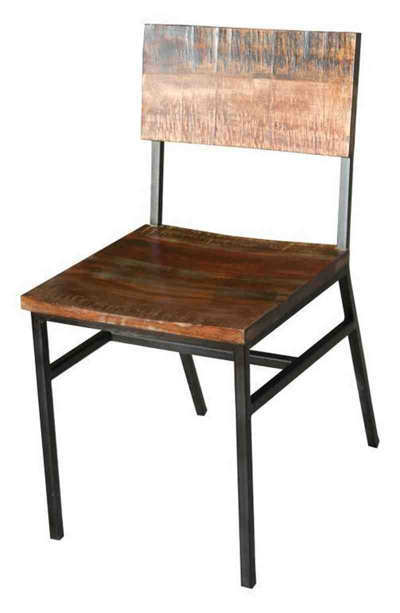 Rustic Metal Dining Chairs - Home Furniture Design