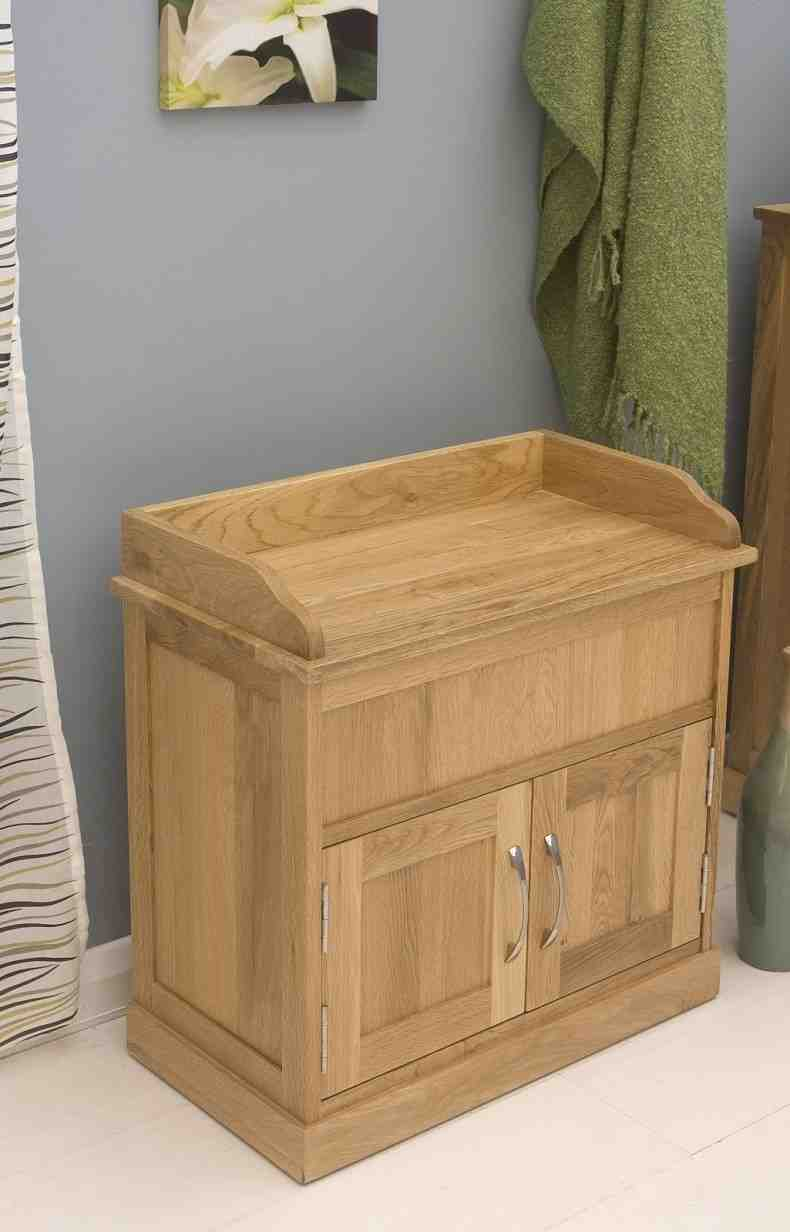 Solid Wood Shoe Storage Bench Home Furniture Design