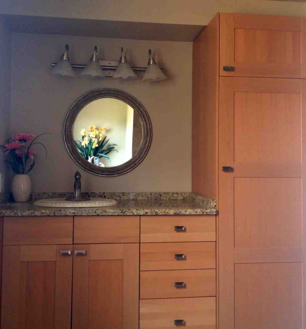 use kitchen cabinets in bathroom using kitchen cabinets in bathroom home furniture design 24469