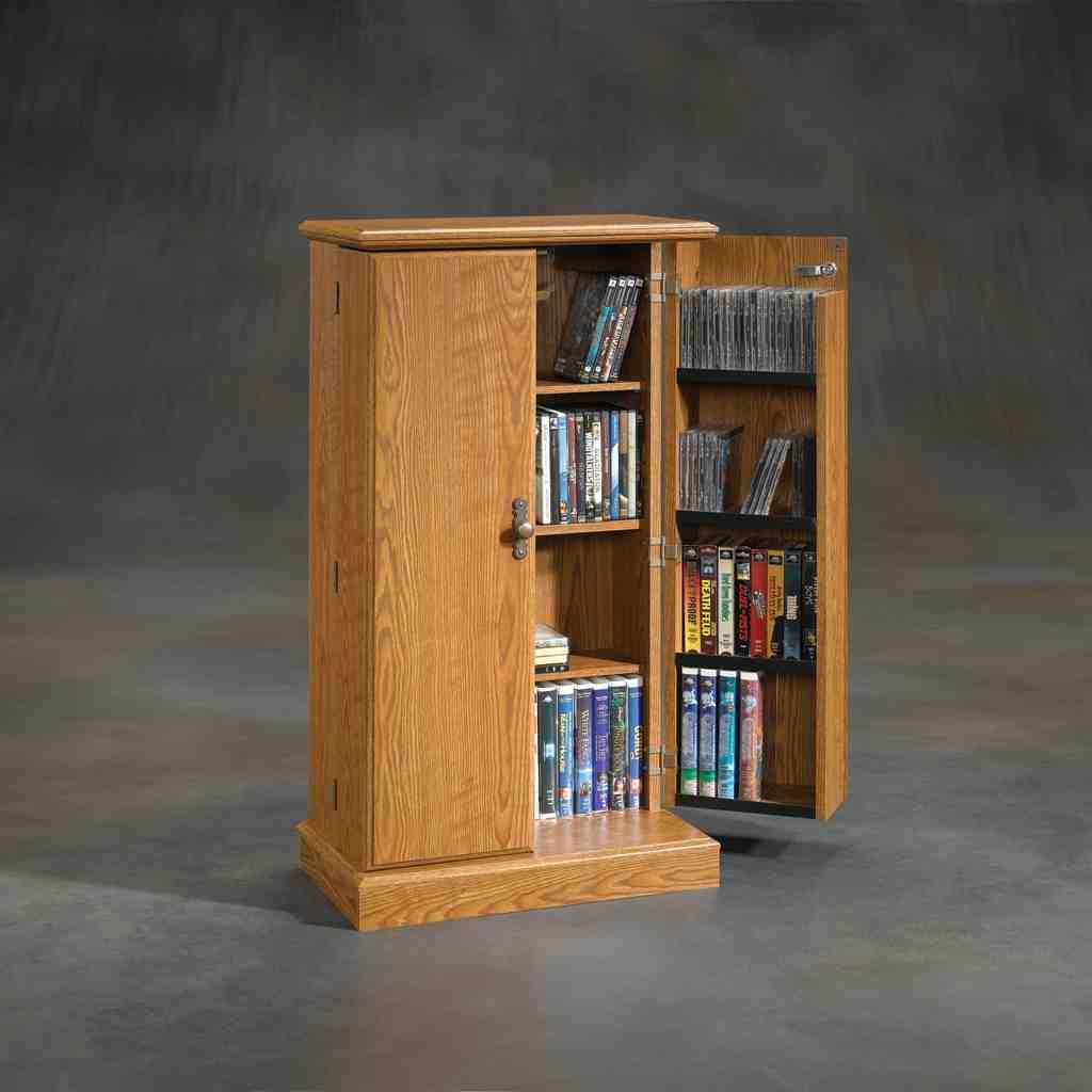 Vhs Storage Cabinet Home Furniture Design