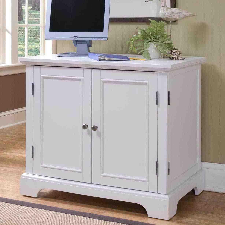 White TV Armoire - Home Furniture Design