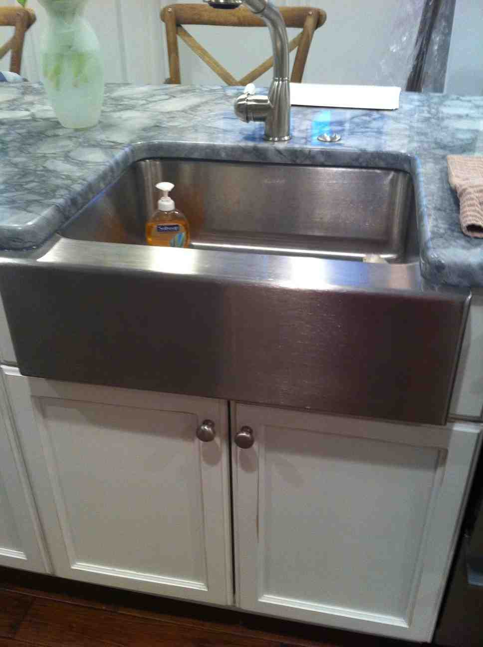 Apron Front Sink Base Cabinet Home Furniture Design