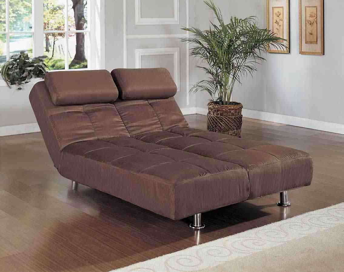 Convertible Futon Sofa Bed And Lounger Home Furniture Design