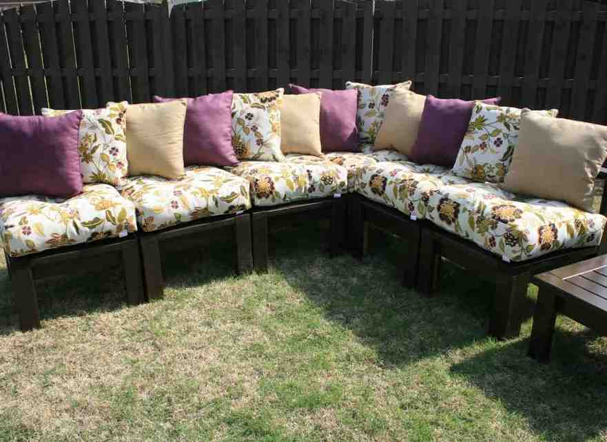 Diy Patio Chair Cushions Home Furniture Design