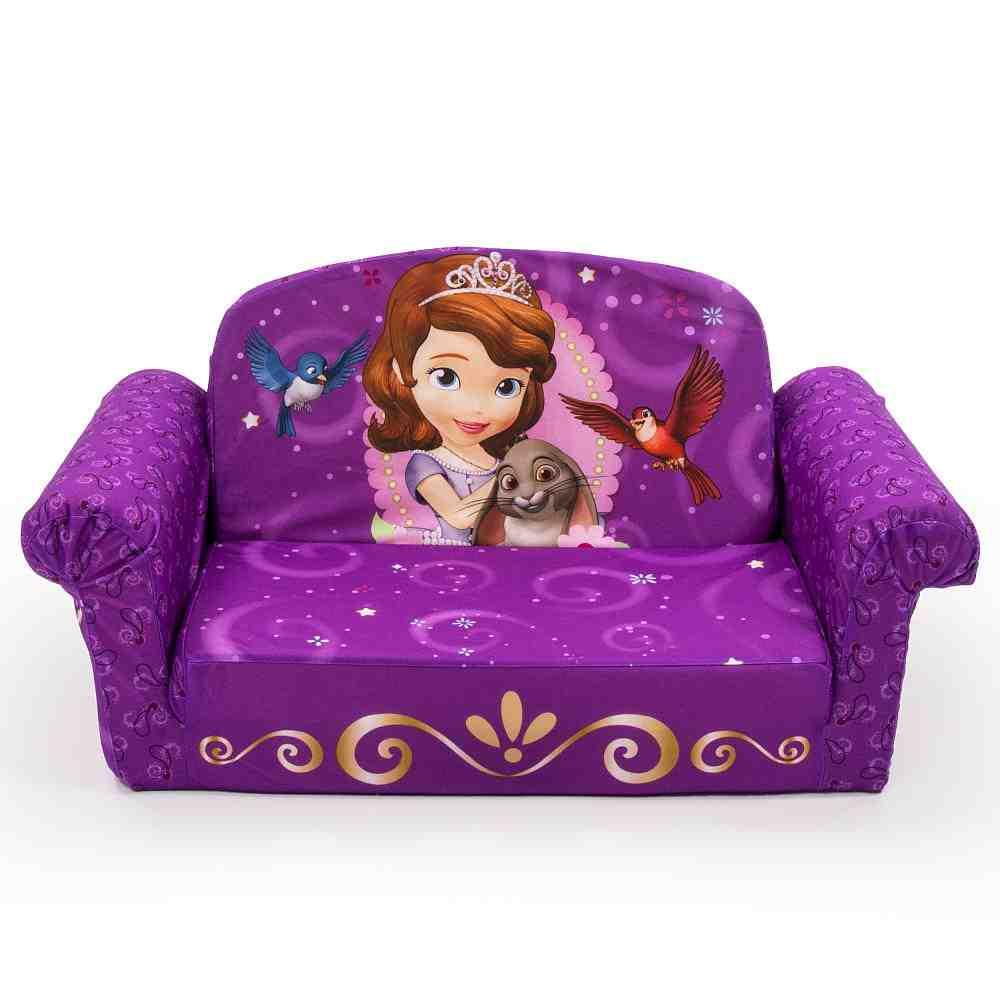 Flip Open Sofa For Kids Home Furniture Design