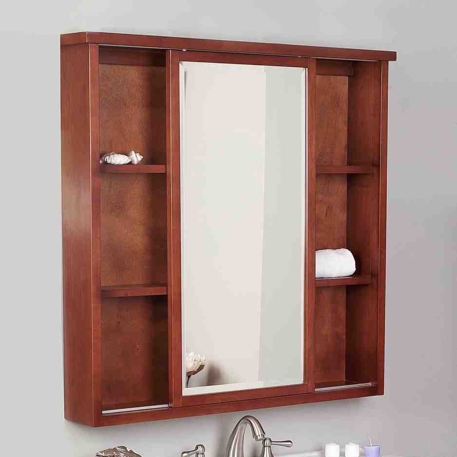 bathroom mirrors medicine cabinets recessed mirrored medicine cabinets for bathrooms home 16296